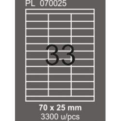 A4 Etiket